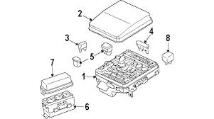 parts u00ae mitsubishi lancer fuse relay oem parts 2006 mitsubishi lancer fuse box diagram 2008