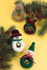 Christmas Ornament Patterns Awesome The Sweetest Crochet Christmas Ornaments Patterns The WHOot