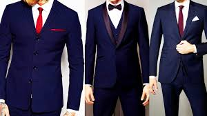 Blue Coat Navy Blue Coat Pant Elegant Royal Blue Men Suits Top 24 Coat Pant Designs