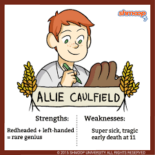 allie caulfield in the catcher in the rye character analysis