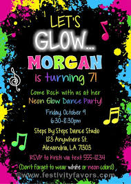 Childrens Disco Invitations Just Dance Birthday Party Invitations Luxury Disco Party