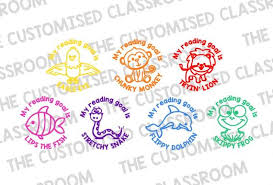 Stamp Set Decoding Reading Strategies Learning Goals Stamps