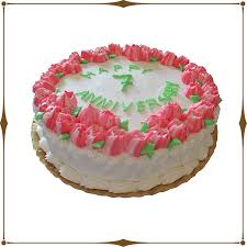 Anniversary Flower Cake Chanis Delectables