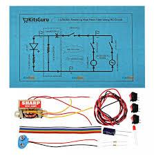 high pass filter using rc circuit