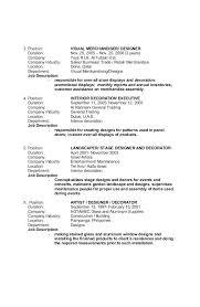 Merchandising Resume Examples Enchanting Visual Merchandiser Job Description Resume Foodcityme