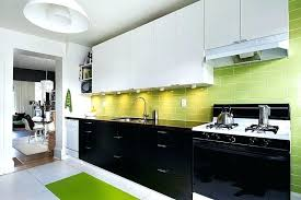 black and white tile kitchen backsplash green kitchen view in gallery black white and green kitchen green glass tile pictures black and white tile kitchen