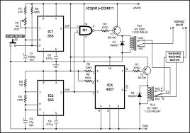 semi automatic washing machine circuit diagram semi washing machine motor controller electronics for you on semi automatic washing machine circuit diagram