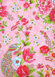 Pink Floral Paisley Peacock Wallpaper By Eijffinger Pip Dream