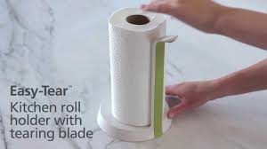 kitchen towel holder. Joseph Easy-Tear™ - Kitchen Roll Holder With Tearing Blade YouTube Towel