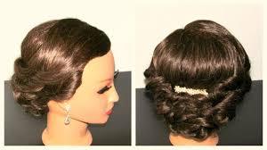 Updo Hairstyles For Shoulder Length Hair 35 Elegant Wedding