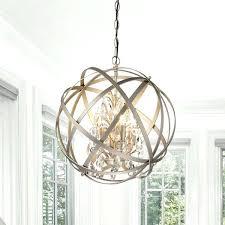 globe light chandelier antique copper 4 light metal globe crystal chandelier 9 light globe chandelier