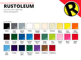 rustoleum paint color chartRustoleum Rebrand on AIGA Member Gallery
