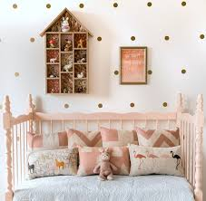 Pink And Gold Toddler Room Decor 8