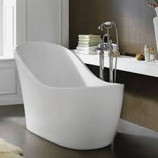 bathroom small freestanding bathtub glamorous white small freestanding bathtub on grey tile floor added by