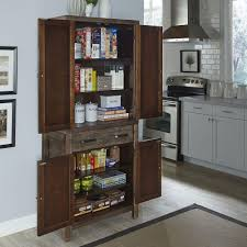 Small Kitchen Pantry Americana Cherry Food Pantry 5005 69 The Home Depot