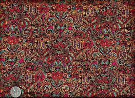 Cotton Quilt Fabric Color Explosion Ethnic Paisley Bright Colorful ... & Cotton Quilt Fabric Color Explosion Ethnic Paisley Bright Colorful 1/2 Yard Adamdwight.com