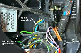 wiring when converting to non a c to make the heater blower work after removing the a c i just needed to connect these two wires