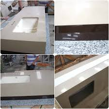Hot Item Quartz And Granite Kitchen Desk Table Tops