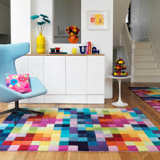 5 Places for Colorful Living Room Rugs : Amazing Living Room Design  Colorful Rug On The