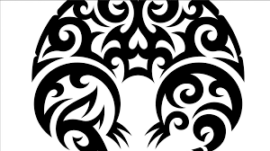 Drawing Vector Graphics Tribal Illustration
