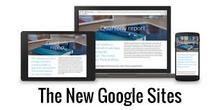 Google Site Templates Control Alt Achieve The Totally New Google Sites