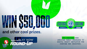 At american family insurance, we're committed to inspire dreamers and help them pursue and protect their dreams. Thursday Round Up Play Seahawks Football Fortune For A Chance At 50 000 And Other Great Prizes