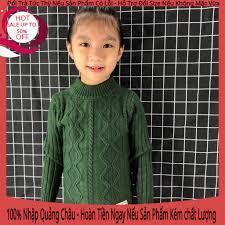 Quần áo trẻ em áo len thu đông cho bé trai gái hàng quảng châu cao cấp loại  1 bền đẹp thời trang không nỗi mốt giá rẻ giảm chỉ còn 145,000 đ