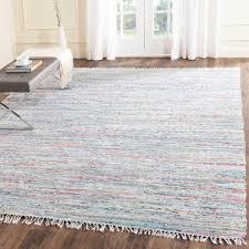 safavieh rag rug light green multi 8 ft x 10 ft area rug rar125d 8 the home depot