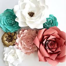 paper flowers by paperflora coral paper flowers nursery decor nursery wall art  on pink and gold floral wall art with paperflora paper flower walls backdrops and home decor
