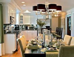 combine small kitchen and dining room outofhome combo image throughout  combining kitchen and dining room Combining