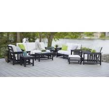 earth friendly furniture. ecofriendly furnishings recycled earthfriendly 8piece patio furniture setblack earth friendly