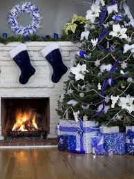 Top 40 Blue And White/ Blue And Silver Christmas Decoration IdeasNow that  Christmas is round