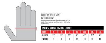 Baffin Size Chart Premium Leather Snowmobile Mittens Gauntlet Snow Ski Cold Weather