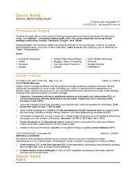 Program Specialist Resume Sidemcicek Com