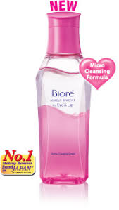 at the end of the day removing such heavy makeup requires an equally specialised and effective makeup remover biore makeup remover for eye and lip is a