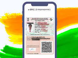 digital voter id cards how to