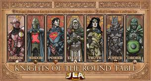 Knights Of Round Table Watch Jlaknights Of The Round Table By Thecomicfan On Deviantart
