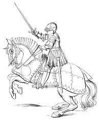 meval knight coloring pages castle page free knights