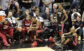 LeBron James Crying Mocked Online As Miami Heat Lose To San Heat Bench
