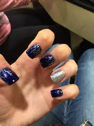 Navy Blue Nail Designs For Prom Navy Blue Prom Nails Prom Nails Navy Blue Nails Navy