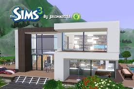 Sims 3 Design The Sims 3 House Designs Modern Villa Sims House Sims