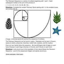 Pattern Worksheets - Have Fun TeachingFibonacci Sequences – Number Patterns Worksheet 2