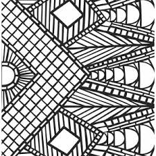 Small Picture Palm Tree Mosaic Coloring Page Palm Tree Mosaic Coloring Page
