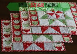 Christmas in August: Pinwheel Star Table Runner, Placemats, and ... & Christmas in August: Pinwheel Star Table Runner, Placemats, and more! - The  Crafty Quilter Adamdwight.com