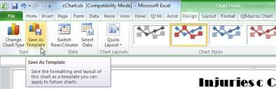Save Excel Chart As Image How To Save And Reuse Excel Chart Formats Custom Excel Formats
