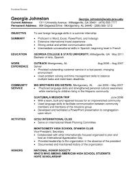 How To Put Language Skills On Resume Free Resume Example And