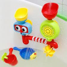 lovely portable bath tub toy water sprinkler system children kids toy gift