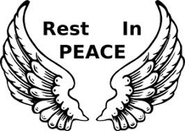 Image result for free clipart rest in peace