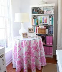 diy magic sew your own decorative round tablecloth