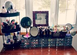 cute makeup organizer ideas home design ideas